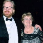 Hon. Marilyn Loucks O'Connor '78 with her late son, actor Philip Seymour Hoffman.