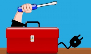 an illustration of a toolbox.
