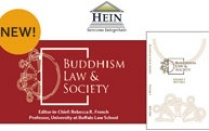 Buddhism law and society logo.