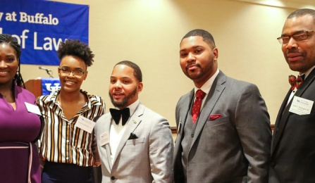 BLSA members attend their annual Prestige event on May 2, 2014.