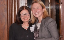Barbara Schifeling '84 and Bridget Steele '16
