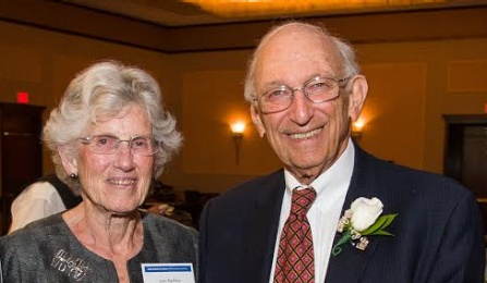 Lauren D. Rachlin celebrated his Distinguished Non-Alumnus Award from the UB Law Alumni Association in 2013, with wife Jean.