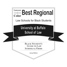 Best Regional Law School badge.