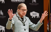 photo of justice Ginsburg.